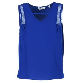 textil Dame Toppe / T-shirts uden ærmer Naf Naf OPIPA Blå