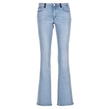 textil Dame Bootcut jeans Naf Naf GALY Blå / LYS
