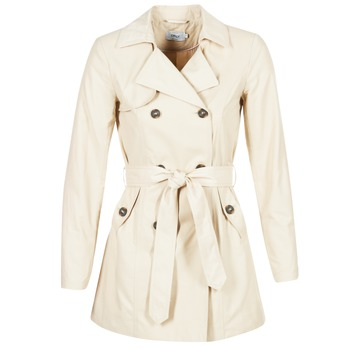 textil Dame Trenchcoats Only MARIA LONG BEIGE