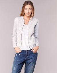 textil Dame Sweatshirts Only JOYCE BOMBER Grå