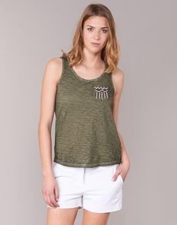 textil Dame Toppe / T-shirts uden ærmer Only VIOLA KAKI