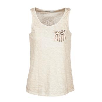 textil Dame Toppe / T-shirts uden ærmer Only VIOLA BEIGE