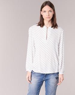 textil Dame Toppe / Bluser Only NELLY 7/8 Hvid