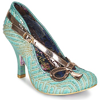 Sko Dame Pumps Irregular Choice BUBBLES Grøn / Mynte