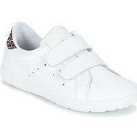 Sko Pige Lave sneakers Citrouille et Compagnie GRANOU Hvid / Pailleter