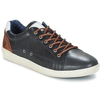 Sko Herre Lave sneakers Casual Attitude GIEVE Blå