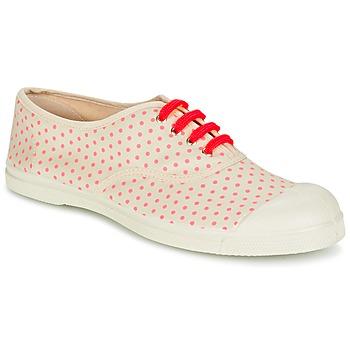 Sko Dame Lave sneakers Bensimon TENNIS MINIPOIS BEIGE / Pink