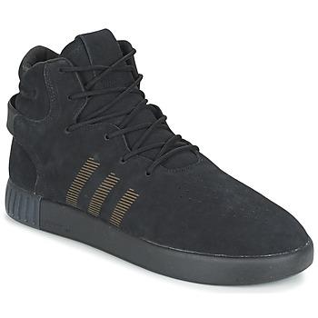 Sko Herre Lave sneakers adidas Originals TUBULAR INVADER Sort