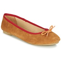 Sko Dame Ballerinaer Kickers BAIE Brun / Lys / Orange