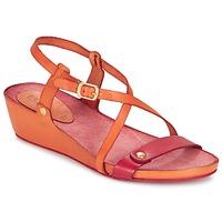 Sko Dame Sandaler Kickers TASTE Orange / Rød