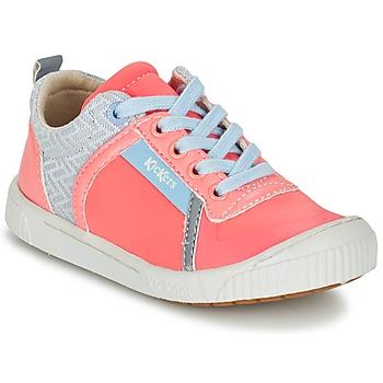 Sko Pige Lave sneakers Kickers ZIGUY KORAL / Blå