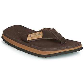 Sko Herre Flip flops Cool shoe 2LUXE Brun