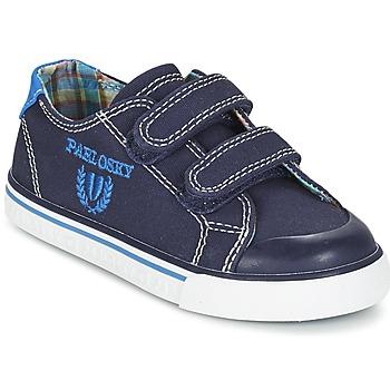Sko Dreng Lave sneakers Pablosky TEDOUME Blå