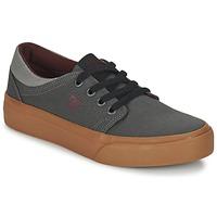 Sko Børn Lave sneakers DC Shoes TRASE TX B SHOE XSSR Grå / Rød