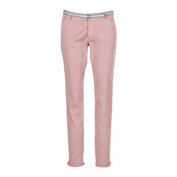 textil Dame Lærredsbukser Esprit HOUISSA Pink