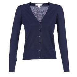 textil Dame Veste / Cardigans Esprit EPILARA Marineblå