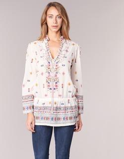 textil Dame Tunikaer Derhy DETENTE Hvid / Pink