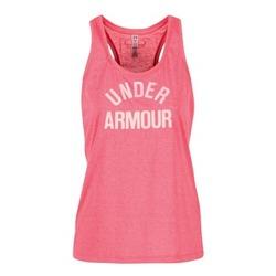 textil Dame Toppe / T-shirts uden ærmer Under Armour THREADBORNET TWIST GRAPHIC Pink