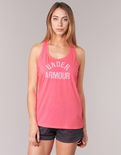 textil Dame Toppe / T-shirts uden ærmer Under Armour THREADBORNET TWIST GRAPHIC Pink