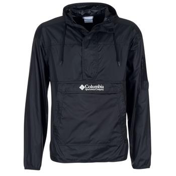textil Herre Vindjakker Columbia CHALLENGER Sort