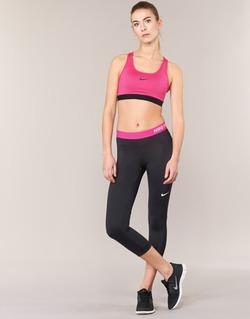 textil Dame Leggings Nike NP CL CAPRI Sort / Pink