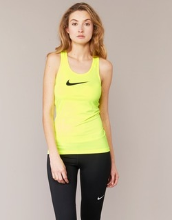 textil Dame Toppe / T-shirts uden ærmer Nike NIKE PRO COOL TANK Gul