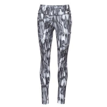 textil Dame Leggings Nike PWR LGND TGHT PRNT Grå / Sort