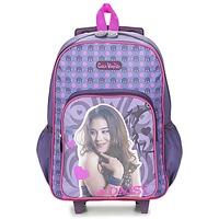 Tasker Pige Rygsække / skoletasker med hjul Dessins Animés CHICA VAMPIRO SAC A DOS TROLLEY Violet