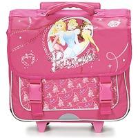 Tasker Pige Rygsække / skoletasker med hjul Disney PRINCESSES CARTABLE TROLLEY 38CM Pink