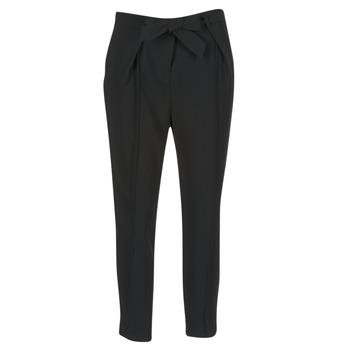 textil Dame Løstsiddende bukser / Haremsbukser Morgan LIKI Sort
