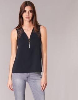 textil Dame Toppe / Bluser Morgan OBLOW Sort