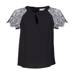 textil Dame Toppe / Bluser Morgan OMA Sort
