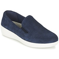 Sko Dame Slip-on FitFlop SUPERSKATE (PERF) Marineblå