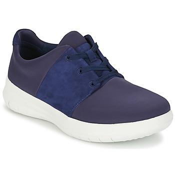 Sko Dame Lave sneakers FitFlop SPORTYPOP X SNEAKER Marineblå