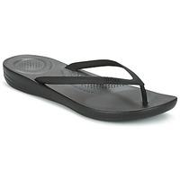 Sko Dame Flip flops FitFlop IQUSHION ERGONOMIC FLIP FLOP Sort