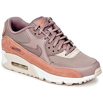 Sko Dame Lave sneakers Nike AIR MAX 90 W MULDVARPEGRÅ / Pink