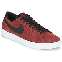 Sko Herre Lave sneakers Nike BLAZER VAPOR LOW SB Bordeaux / Hvid
