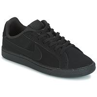 Sko Børn Lave sneakers Nike COURT ROYALE GRADE SCHOOL Sort