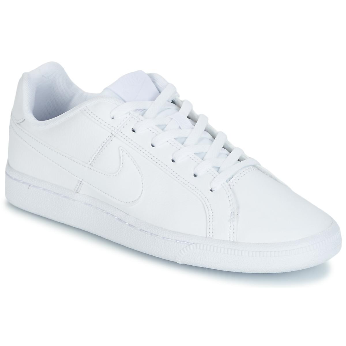afaae6b90a4 Nike COURT ROYALE GRADE SCHOOL Hvid - Gratis fragt   Spartoo.dk ! - Sko  Lave sneakers Barn 311,00 Kr