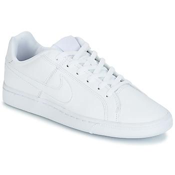 Sko Børn Lave sneakers Nike COURT ROYALE GRADE SCHOOL Hvid
