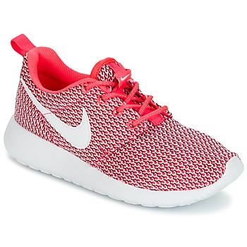 Sko Pige Lave sneakers Nike ROSHE ONE GRADE SCHOOL Pink / Hvid