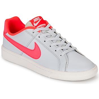 Sko Pige Lave sneakers Nike COURT ROYALE GRADE SCHOOL Grå / Pink