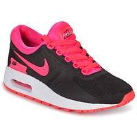 Sko Pige Lave sneakers Nike AIR MAX ZERO ESSENTIAL GRADE SCHOOL Sort / Pink