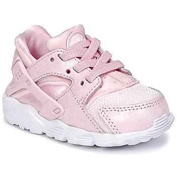 Sko Pige Lave sneakers Nike HUARACHE RUN SE TODDLER Pink
