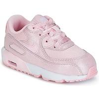 Sko Pige Lave sneakers Nike AIR MAX 90 MESH SE TODDLER Pink