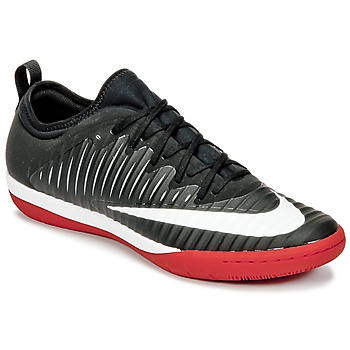 Sko Herre Fodboldstøvler Nike MERCURIALX FINALE II IC Sort / Hvid / Rød