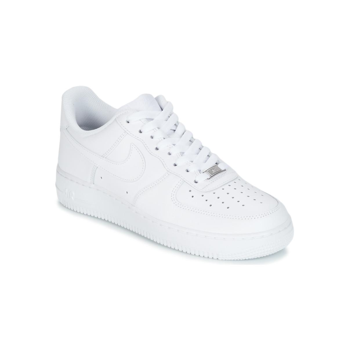 check out ef07b 1854b Sko Herre Lave sneakers Nike AIR FORCE 1 07 Hvid