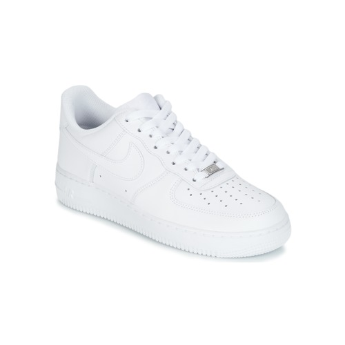 check out 713e2 83e16 Sko Herre Lave sneakers Nike AIR FORCE 1 07 Hvid