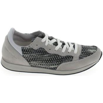 Sko Dame Lave sneakers Ippon Vintage Run Street Blanc Gris Grå