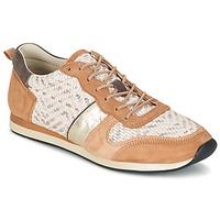 Sko Dame Lave sneakers Bocage LANNY COGNAC / Hvid